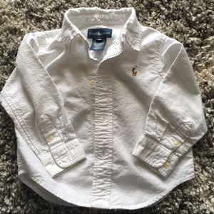 Polo Ralph Lauren button up 18 months